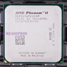 AMD Phenom II X4 945 HDX945WFK4DGM CPU Processor 4000 MHz 3 GHz Socket AM3