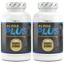 2x Alpha Plus = 360 Stk Tribulus Maca L-Arginine Potenz Booster Sex Muskelaufbau