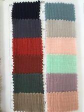 JL Flat Post Bulk Wrinkled Soft Crepe Double Gauze Double Muslin Cotton Fabric