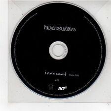 (FU478) Hundred Waters, Innocent - 2014 DJ CD
