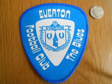 VINTAGE EVERTON  FC  LARGE SEW ON CLOTH PATCH/BADGE
