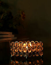 Crystal Art Deco Style Candle Holders & Accessories