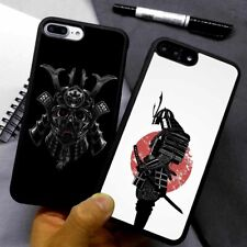 Japanese Samurai Silicone Phone Case Cover For iPhone Samsung Galaxy
