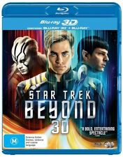 Star Trek Beyond 3D Blu-ray ONLY NO 2D  (2016) Needs 3D TV BRAND NEW IN STOCK