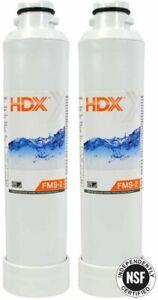 2x Samsung HAF-CINS Replacement Water Filter HDX FMS-2 Refrigerator 107019