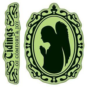 Inkadinkado Cling Stamps, Angel Cameo, Mini