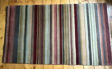 John Lewis Striped Rug 150 X 90 Harvest great condition