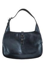 GUCCI Black leather Jackie Bag (M)