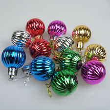 12Pcs×Christmas Balls Party Baubles Xmas Tree Decorations Hanging Ornament Decor