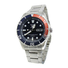 Seiko Analog Business 5 Sports Silver Mens SNZF15K1