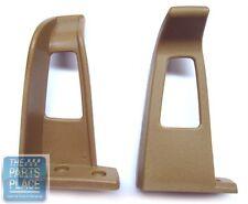 1978-88 Gm Seat Belt Guides - Camel - Pair (Fits: Oldsmobile)