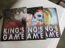 lot mangas .KING' GAME.. de NOBUAKI KANAZAWA ..3vol ...TBE