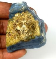 Australian 200-250 Carat Blue Opal 1 Piece Natural Untreated Gemstone Rough