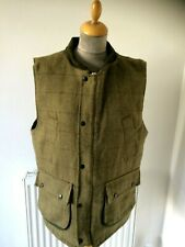 Men's Tweed Shooting Hunting   Waistcoat  Gilet By Greenbelt....Size S