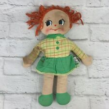 "Knickerbocker Cloth Rag Doll 13"" Baby-Doll Made in Republic of China"