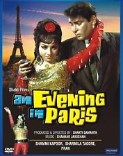 AN EVENING IN PARIS DVD SHAMMI KAPOOR  Original Movie English Subtitles