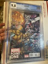CGC 9.8 POINT ONE #1 VARIANT 1ST APPEARANCE SAM ALEXANDER NOVA 1ST PRINT 2012