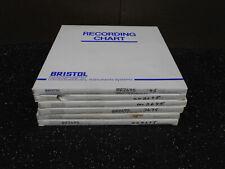 Lot Of 6 Bristol Babcock 55409 Recording Chart Paper 100/Bx
