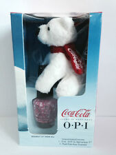 OPI Bearest of Them All Nail Varnish Coca Cola Christmas Edition **FREE BEAR**