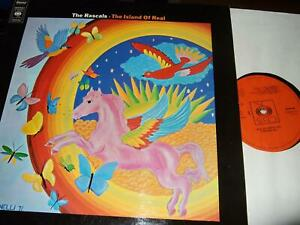 THE RASCALS : THE ISLAND OF REAL LP 1972 CBS 64756 NL
