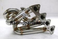 OBX Equal Length Turbo Manifold W/ T3 or T4 Flange Fit  90-01 Honda B16 B17 B18