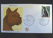 MONACO PREMIER JOUR FDC YVERT  722       CHIEN        0,30F       1967