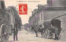 CPA 37530 POCé SUR CISSE Route Chateaurenault déménagement Edt ROUSSEAU ca1914