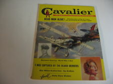 Vintage CAVALIER magazine JAN 1960 DWARF; KINGFISH HUEY; RETURN FROM DEAD - VG