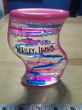 Hailey Idaho Oil Water Zig Zag Water Dripper Liquid Motion Desk Toy Pre Owned