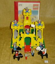LEGO Sets: Classic Castle 375-2 Castle (1978) 100% with MINIFIGURES Vintage 6075