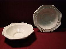 """Set of (6) JC Penny Vintage Ivory 7 7/8"""" Soup/Cereal Bowls"""