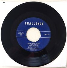JERRY WALLACE - Blue Jean Baby / Fools Hall of Fame - CHALLENGE 1003