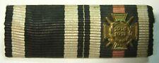 WW1 Imperial German Iron Cross / Hindenburg Cross Pin Back Ribbon Bar