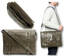 🎁 NWT Frye Oliver Antiqued Leather Laptop Messenger Bag Briefcase Olive $578