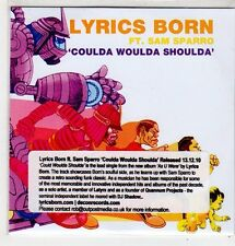 (FF621) Lyrics Born ft Sam Sparro, Coulda Woulda Shoulda - 2010 DJ CD