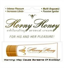 Hott Product's Horny Honey Arousal Cream. 1oz Tube. Free Shipping. HTP2202