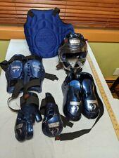 Macho Warrior Sparring Gear Set - Blue Child Medium - Taekwondo Karate