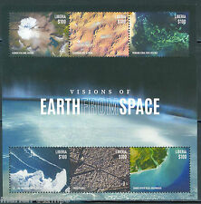 Liberia 2015 Visions Of Earth From Space Sheet Mint Never Hinged