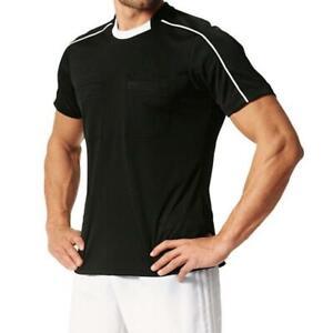 adidas Referee 16 Mens Referee T Shirt Football AJ5917 Short Sleeve Crew Tee