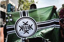 Republik Kekistan Pepe Frosch 3x5' Flag 4chan Pol Praise Kek + 10 Free Stickers