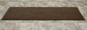 "Queen Cotton Chocolate  Washable Bath Rug Runner Chocolate 1'x10"" x 5'"