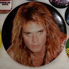 Vintage David Lee Roth Pin / Button