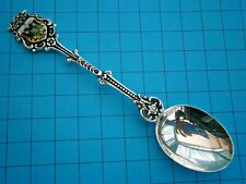 SA705*) German Dutch 910 silver Nijmegen Eagle crest souvenir Collectors spoon