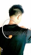 THAI WOODEN STICK MASSAGER TIPPED & HANDLED CURVE Wood Back & Body Therapy Spa..