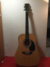 Burswood Acoustic Guitar ESTEBAN Right Handed- 6 String W/Case