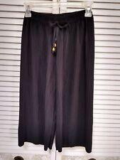 Black Skort Shorts Split Skirt - Philippines - Size 10? - Pleated