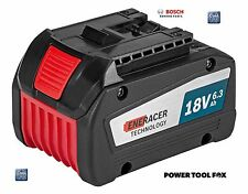 4 ONLY- Bosch COOL PACK GBA 18V 6.3AH EneRACER BATTERY 1600A00R1A 3165140885720