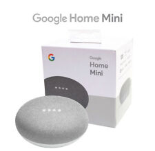 Brand New Google Home Mini Chalk Voice-Activated Smart Wireles Bluetooth Speaker