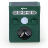 ZOVENCHI Outdoor Solar Animal Repeller with LED Flash GH-191B - GREEN