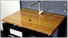NEW Bamboo Wood Bathroom Vanity Countertop for vessel sink 31 x 21
